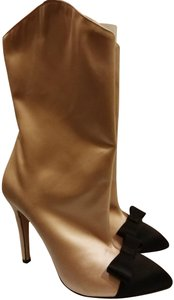 Alessandra Rich Nude black Boots