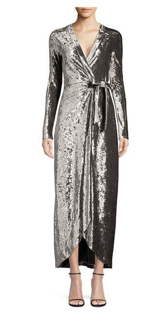 Item - Bcbg Velvet Long Night Out Dress Size 00 (XXS)