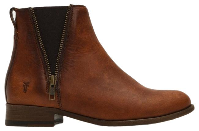 Item - Cognac Carly Chelsea Boots/Booties Size US 7.5 Regular (M, B)