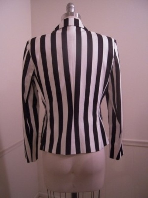 Harvé Benard Black & White Blazer
