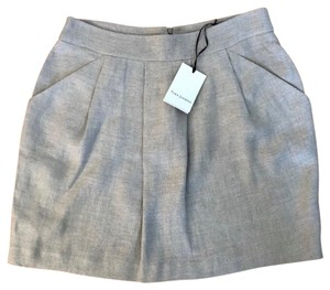 Tara Jarmon Mini Skirt Neutral/Tan