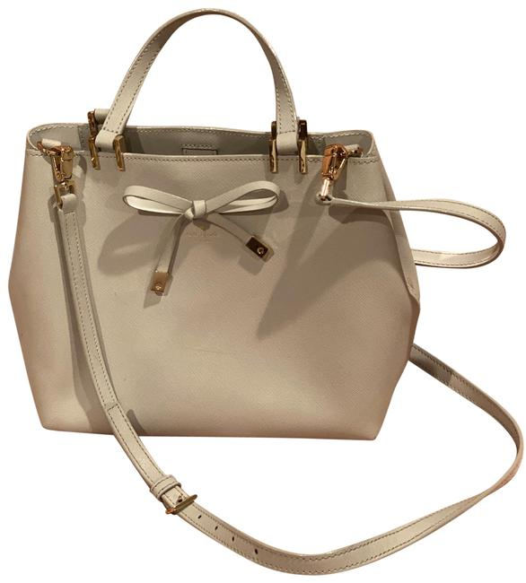 Item - Cherrywood Street Gywn Grey with Silver Hardware Leather Satchel