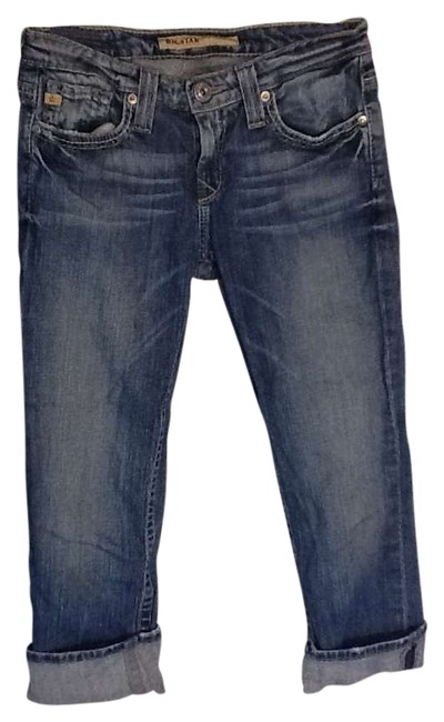 Preload https://item4.tradesy.com/images/big-star-denim-light-wash-capricropped-jeans-size-27-4-s-266268-0-0.jpg?width=400&height=650