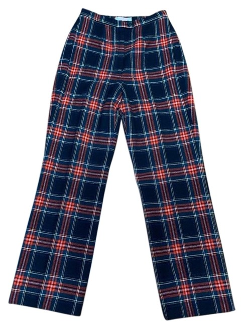 Item - Red Black Stuart Tartan Plaid Pants Size 8 (M, 29, 30)