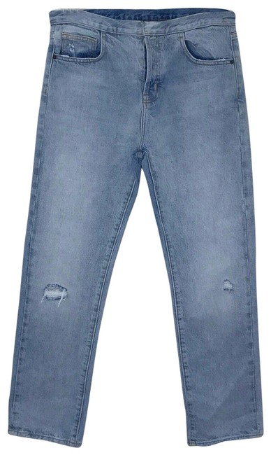 Item - Blue Light Wash  The Straight Leg Jeans Size 28 (4, S)