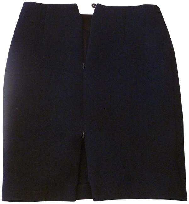 Item - Navy Blue Made with Italian Fabric. Skirt Size 6 (S, 28)