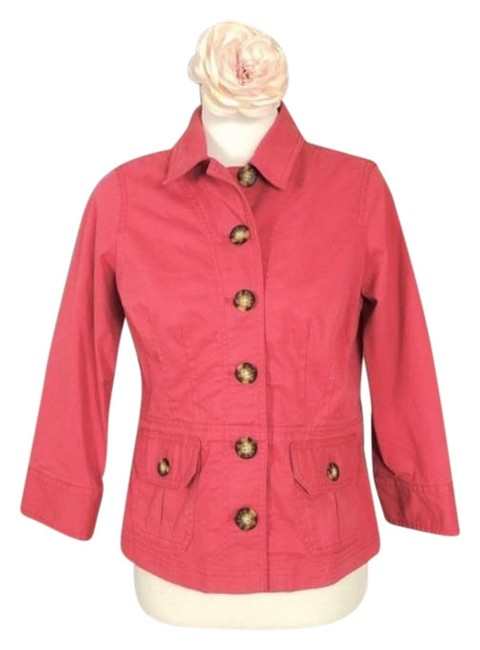 Item - Coral Pink Jacket Size 4 (S)