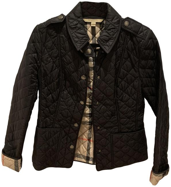 Item - Black Quilted Women's Jacket Size 2 (XS)