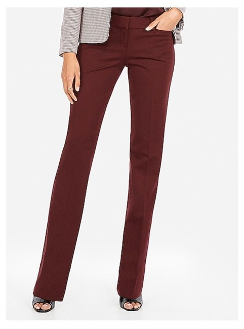 Item - Wine Low Rise Barely Columnist Pants Size 0 (XS, 25)
