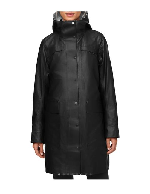 Item - Black Into The Drizzle Jacket Coat Size 8 (M)