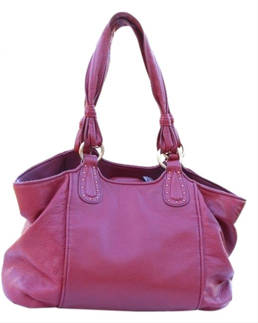 Item - Red Leather Tote