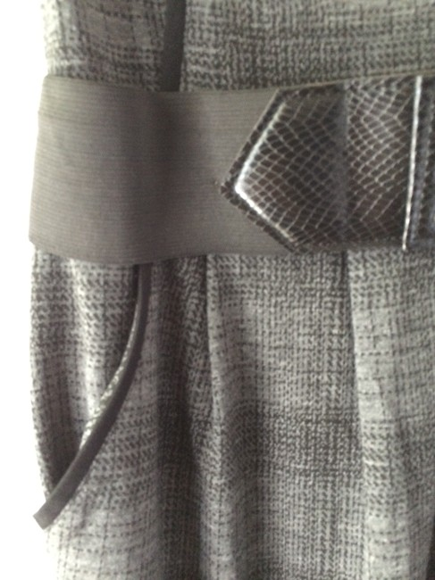 A. Byer Checkered Stretchy Dress Image 1