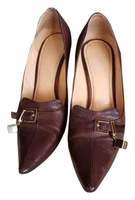 Item - Brown Leather Pumps Size US 6 Narrow (Aa, N)