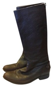 Frye Leather Melissa Dark Brown Boots