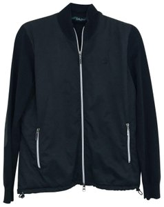 Bobby Jones Bobby Jones Masters Zip Up Sweater Jacket Black