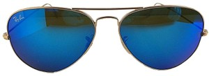 Ray-Ban Aviator Large Metal RB 3025 112/17 58mm Blue Mirrored Sunglasses