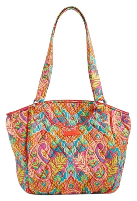 Item - Glenna Paisley In Paradise Cotton Shoulder Bag