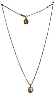 Tory Burch pearl chain necklace