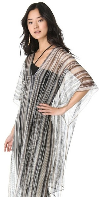 Preload https://img-static.tradesy.com/item/2663359/missoni-blackgrey-long-lightweight-sheer-striped-poncho-blackgray-tunic-size-os-one-size-0-0-650-650.jpg