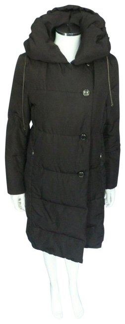 Item - Brown Down Puffer Jacket Coat Size 2 (XS)
