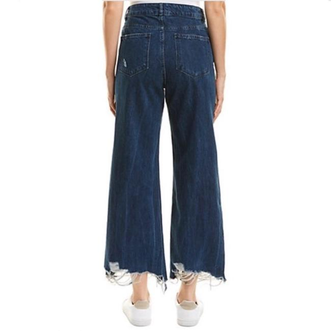 DL1961 Rawhem Highwaist Highrise Trouser/Wide Leg Jeans-Medium Wash Image 6