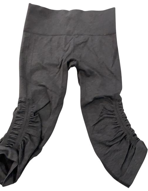 Item - Heathered Black In The Flow Activewear Bottoms Size 6 (S)
