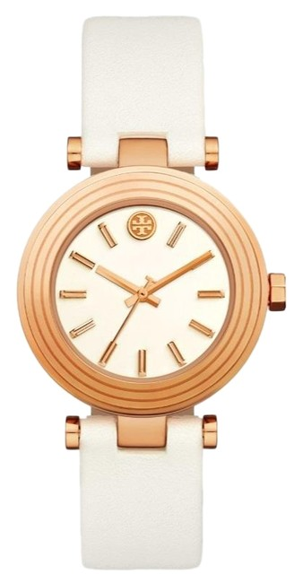 Item - Rose Gold-tone/White T New The Classic and Leather Tbw9012 Watch