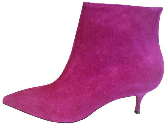 Item - Pink So Kate 55 Suede Ankle Kitten Heel Boots/Booties Size EU 38 (Approx. US 8) Regular (M, B)