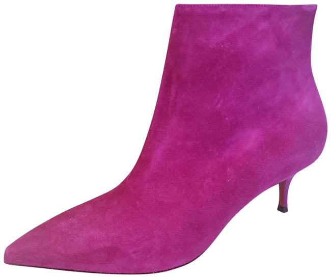 Item - Pink So Kate 55 Suede Ankle Kitten Heel Boots/Booties Size EU 39 (Approx. US 9) Regular (M, B)