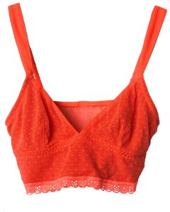 Gilly Hicks Top Red & Orange