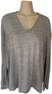 John Varvatos T Shirt Long Sleeve Cotton V-neck Sweater