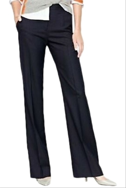 Item - Black Favorite Fit Pinstriped Pants Size 4 (S, 27)