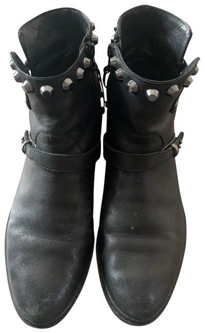 Item - Black Stud Boots/Booties Size US 6.5 Regular (M, B)