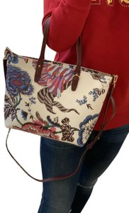 Tory Burch Tb Floral Tote