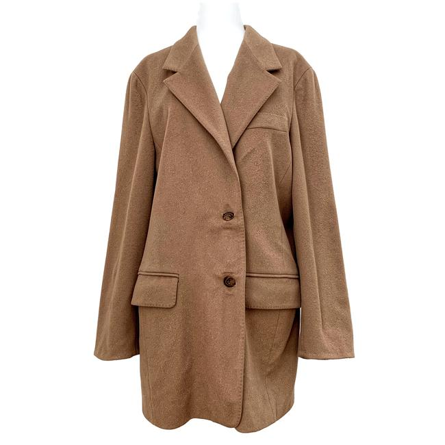 Item - Tan Cashmere Coat Size 14 (L)
