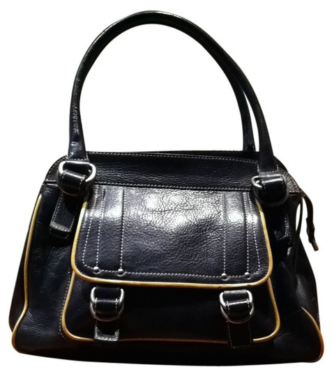 Preload https://item4.tradesy.com/images/marc-jacobs-vintage-pebbled-leather-black-w-tan-trim-satchel-26638-0-0.jpg?width=440&height=440