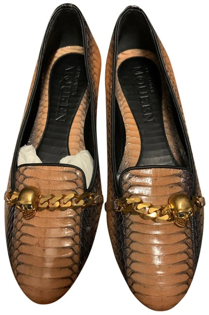Item - Multi Tan Cobra Loafers Mules Flats Size EU 37.5 (Approx. US 7.5) Regular (M, B)