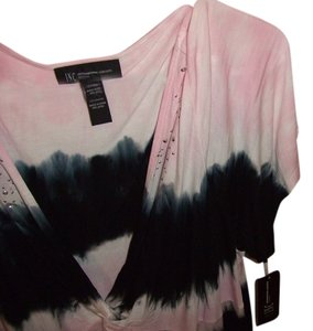 INC International Concepts Plus Size Top Blush Pink