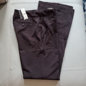 New York & Company Flare Pants Brown