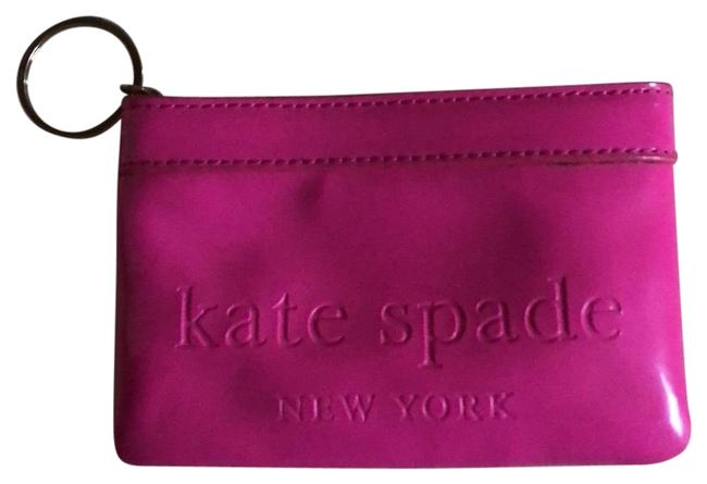 Item - Pink Patent Leather Coin Purse Wallet