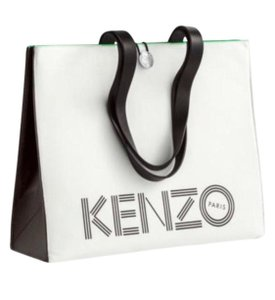 Kenzo x H&M Tote in white