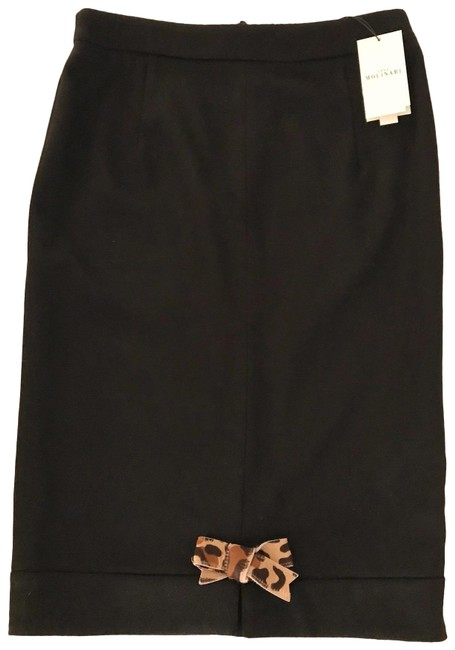 Item - Cashmere with Bow Detail Skirt Size 6 (S, 28)