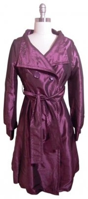 Preload https://item2.tradesy.com/images/coffee-shop-deep-metallic-purple-raincoat-trench-coat-size-8-m-26641-0-0.jpg?width=400&height=650