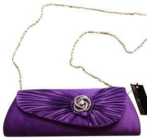 Sasha Purple Clutch