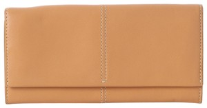 Tod's Tan Long Leather Wallet