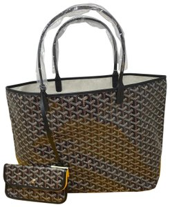 Goyard St. Louis Gm St. Louis Louis St. Louis Tote in Black