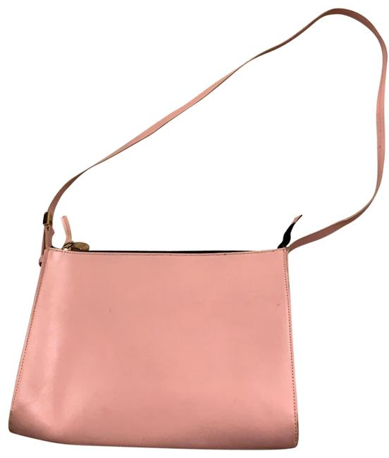 Item - Pale Pink Leather Cross Body Bag