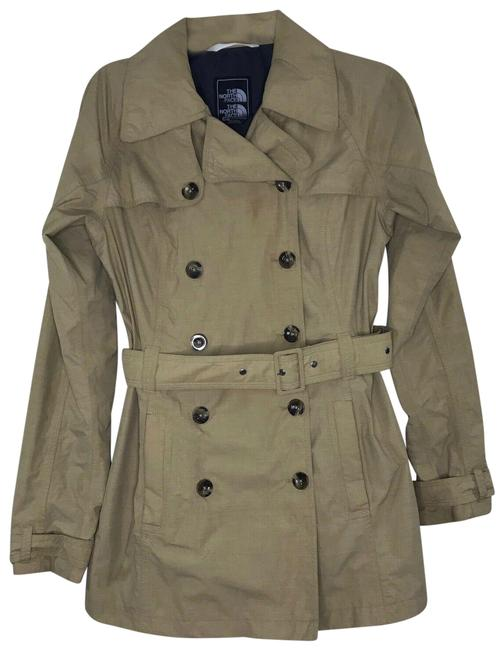 Item - Light Camel Rain Jacket Coat Size 4 (S)