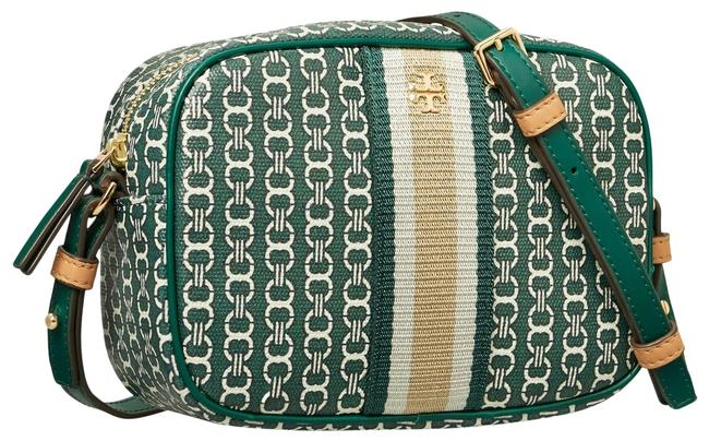 Item - Gemini Link Malachite Canvas Cross Body Bag