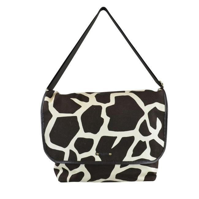 Item - Messenger Griaffe Cape Town Brown / White Canvas Diaper Bag